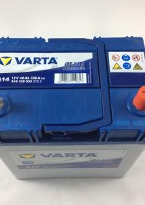 BATTERIA VARTA 12V 40AH 330A(EN) A14