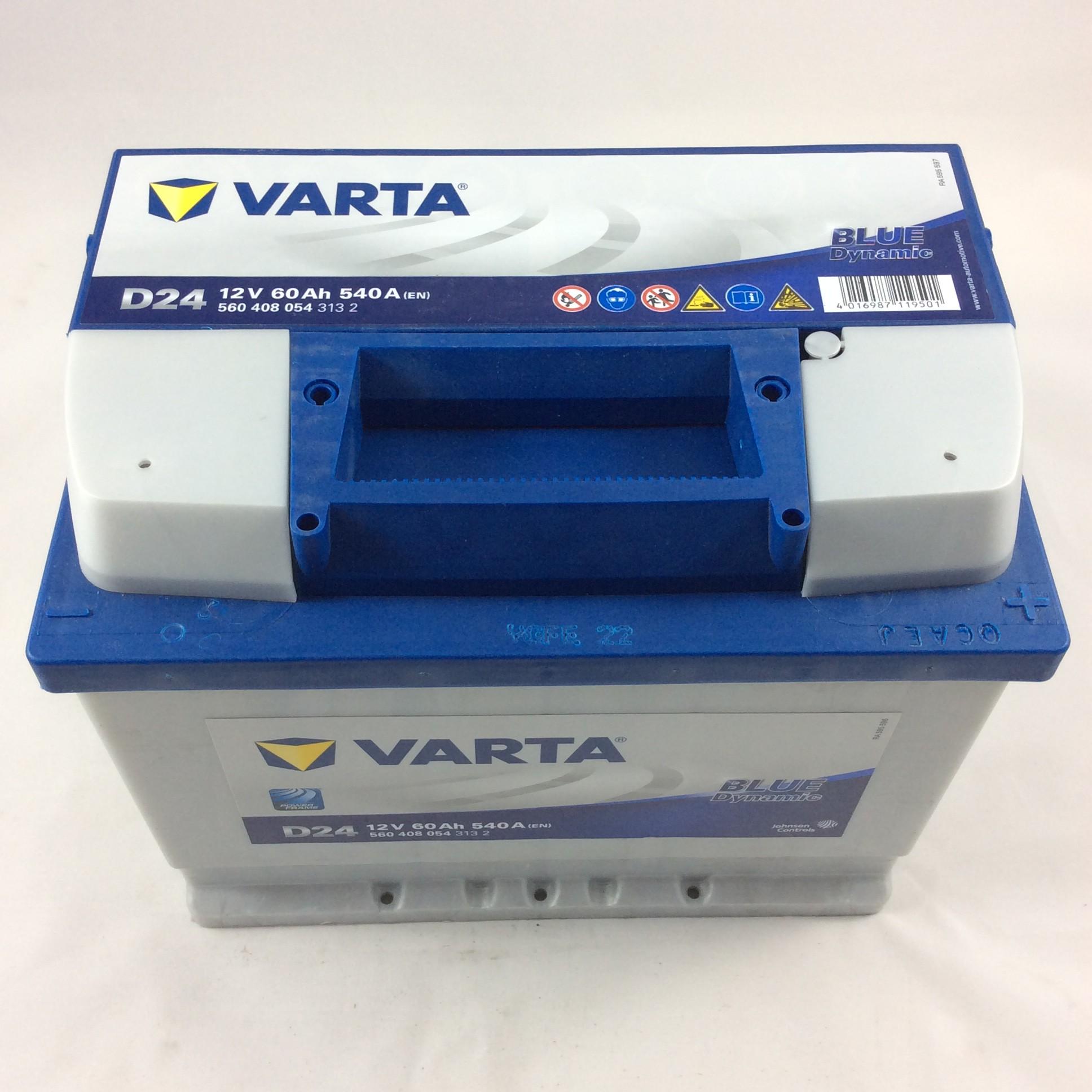 BATTERIA VARTA 12V 60AH 40A(EN) D24-