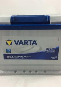 BATTERIA VARTA 12V 60AH 540A(EN) D24