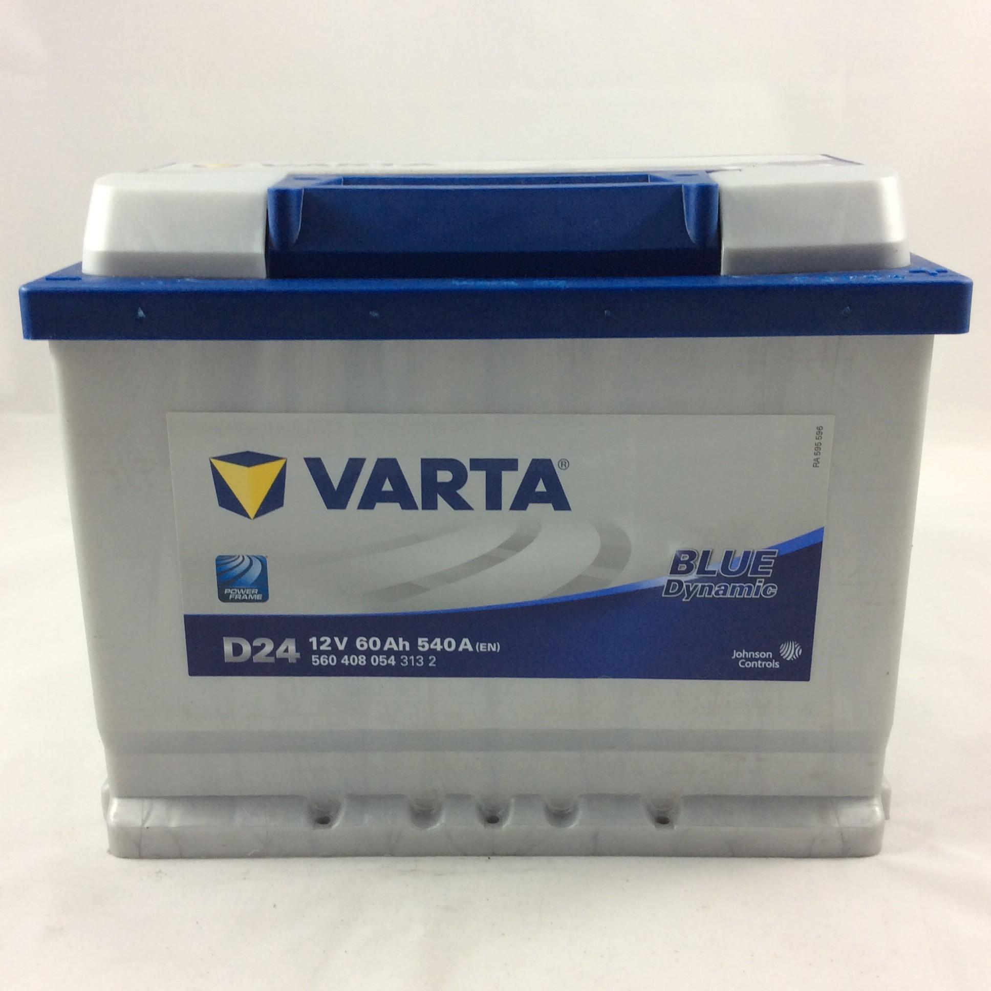BATTERIA VARTA 12V 60AH 40A(EN) D24