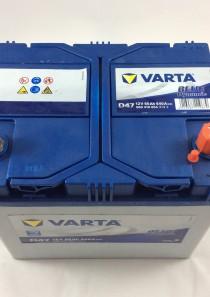 BATTERIA VARTA 12V 60AH 540A(EN) D47