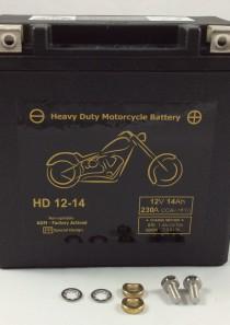 BATTERIA MOTO HARLEY DAVIDSON 12V 14AH 230CCA HD12-14 BM714