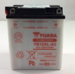 .BATTERIA MOTO-SCOOTER YUASA 12V 12AH YB12AL-A2