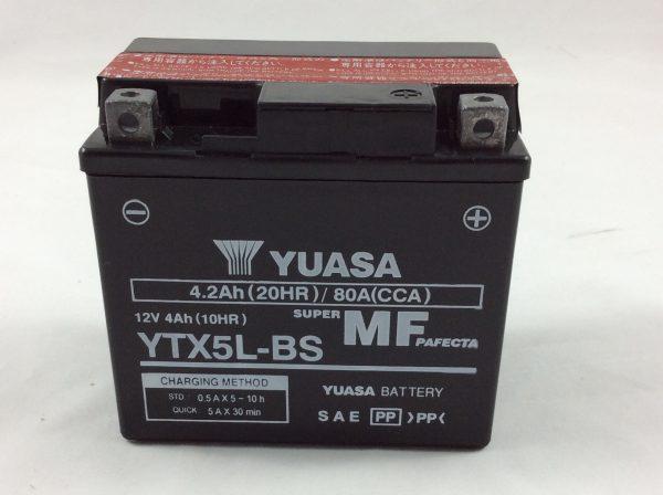 BATTERIA MOTO-SCOOTER YUASA 12V 4AH YTX5L-BS
