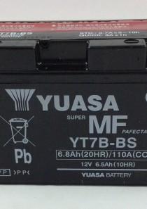 BATTERIA MOTO-SCOOTER YUASA 12V 6.5AH YT7B-BS (AC)
