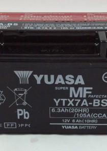 BATTERIA MOTO-SCOOTER YUASA 12V 6AH YTX7A-BS