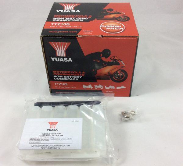 BATTERIA MOTO-SCOOTER YUASA 12V 8.6AH TTZ10S