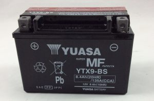 BATTERIA MOTO-SCOOTER YUASA 12V 8AH YTX9-BS
