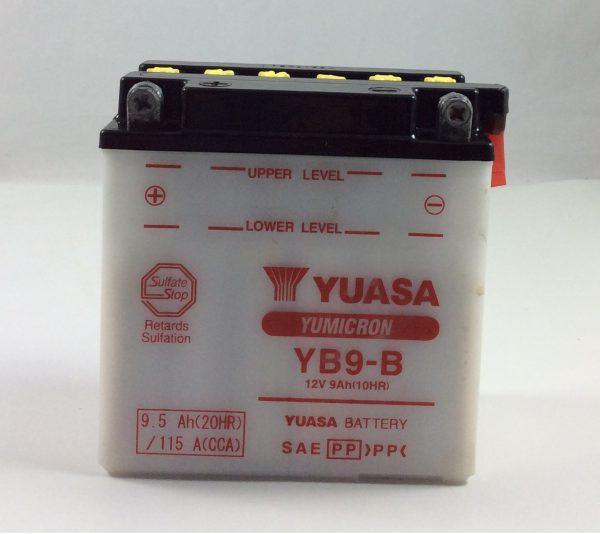 BATTERIA MOTO-SCOOTER YUASA 12V 9AH YB9-B