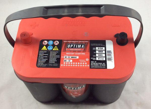 BATTERIA OPTIMA 12V 50AH 815A(EN) RTC4.2