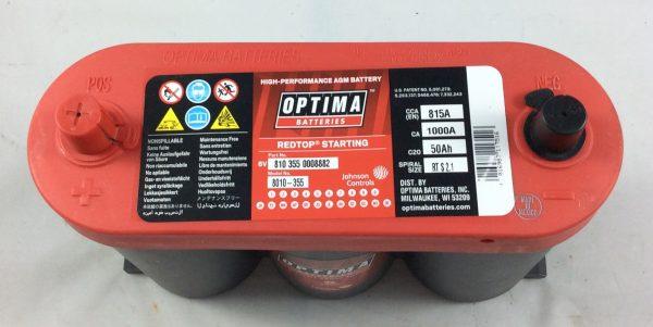 BATTERIA OPTIMA 6V 50AH 800A(EN) RTS2.1