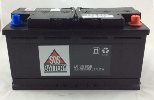 BATTERIA SOS BATTERY 12V 105AH 850A(E) 105850