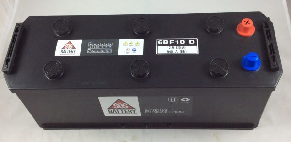 BATTERIA SOS BATTERY 12V 120AH 940A(EN) 6BF10D