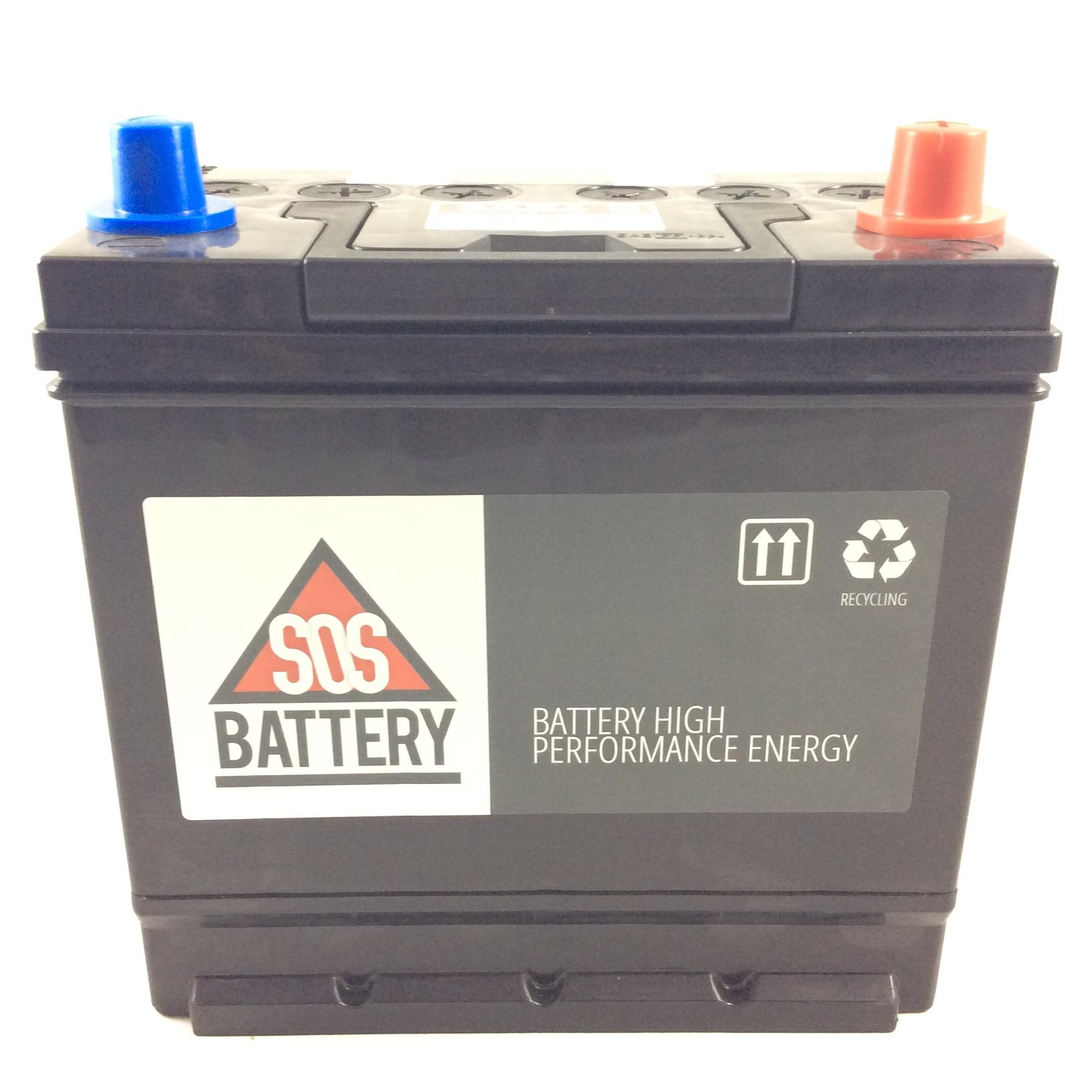 batteria sos battery 12v 45ah 370a en 6ap4d sos battery. Black Bedroom Furniture Sets. Home Design Ideas