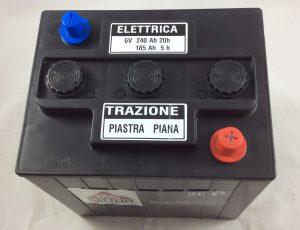 BATTERIA TRAZIONE LEGGERA 6V 240AH ELETTRICA