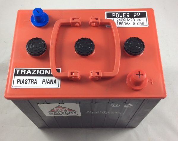 BATTERIA TRAZIONE LEGGERA 6V 240AH POWER PP