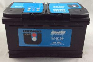 BATTERIA URANIO SART E STOP 12V 80AH 800A(EN) VR800