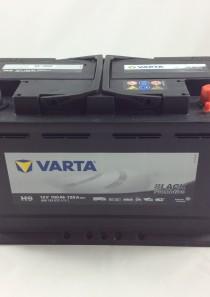 BATTERIA VARTA 12V 100AH 720A(EN) H9