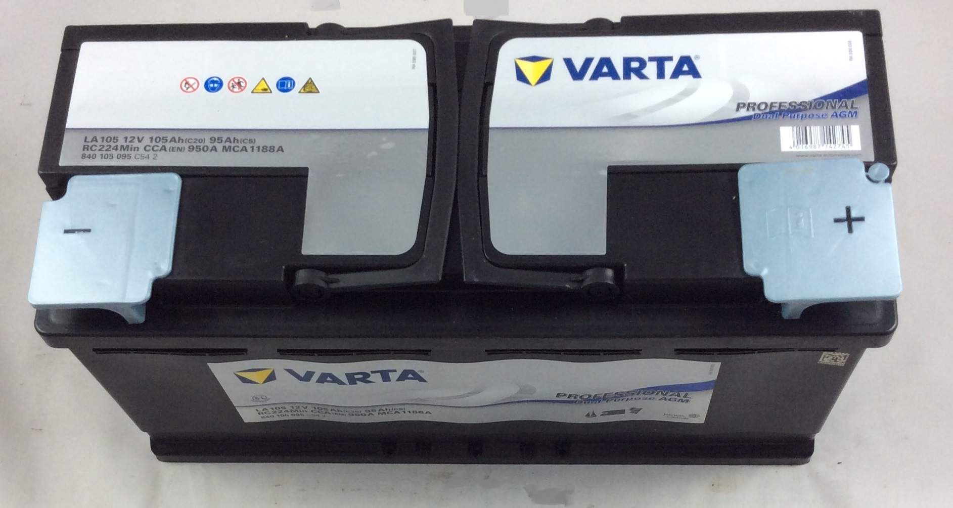 BATTERIA VARTA PROFESSIONAL 12V 105AH 950A(EN) LA105
