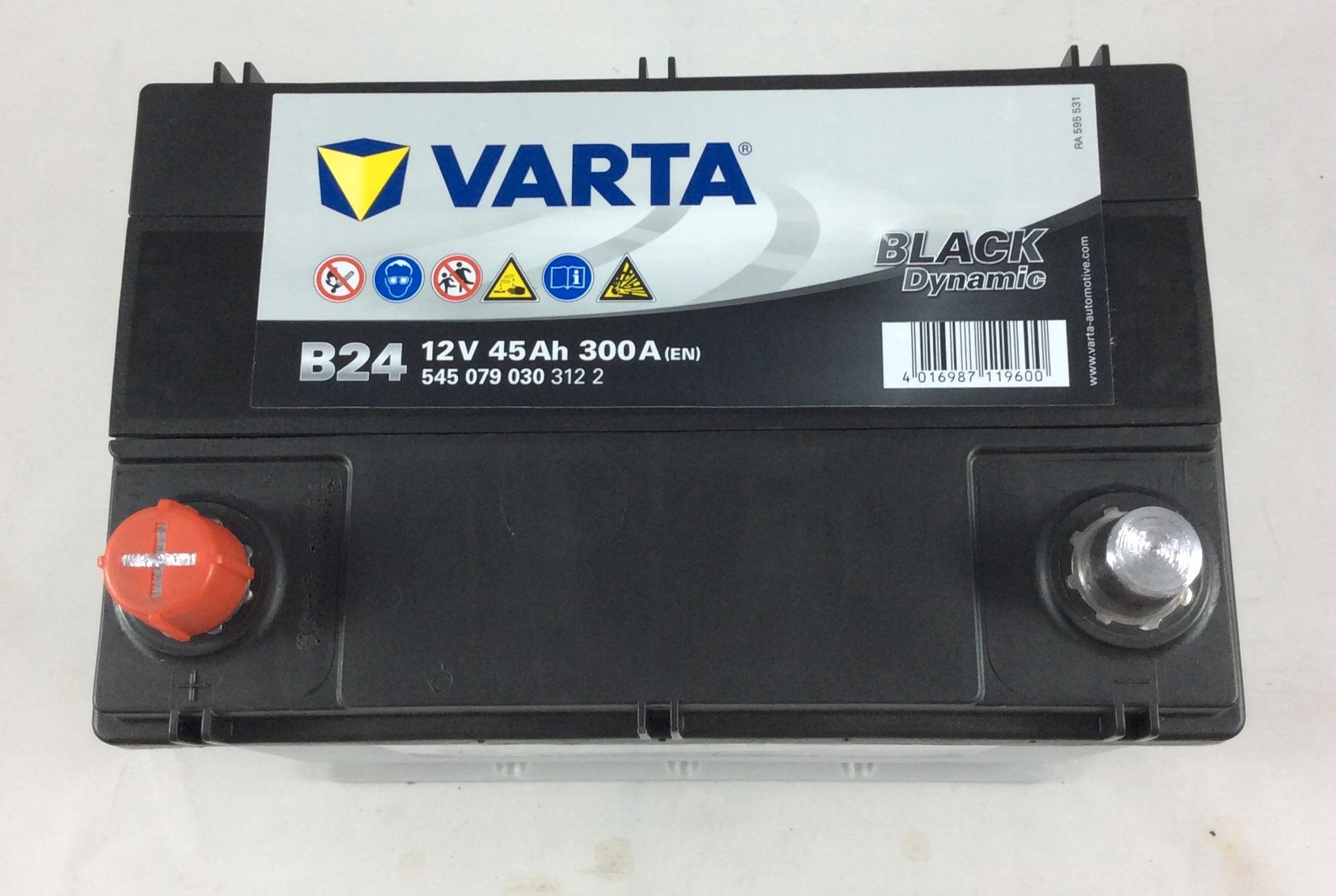 BATTERIA VARTA 12V 45AH 300A(EN) B24