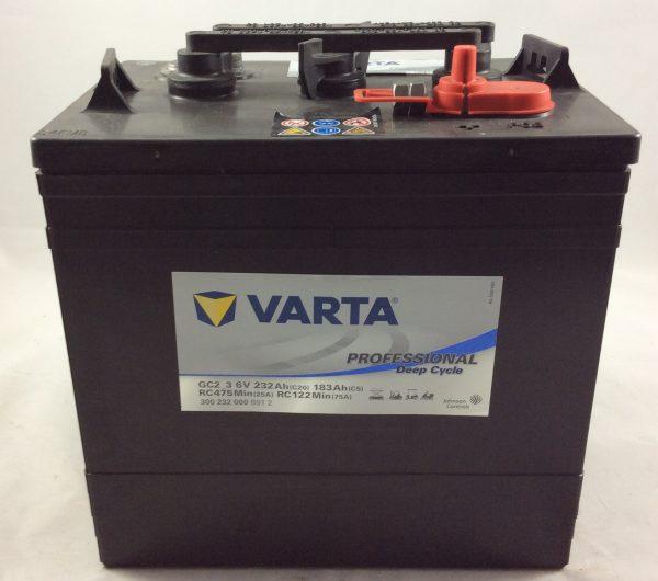 BATTERIA VARTA PROFESSIONAL 6V 232AH(C20) 183AH(C5) GC2_3