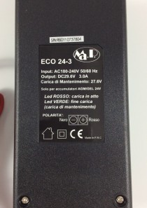 CARICABATTERIE MANTENITORE CB ECO 24-3 (24V 3AH)