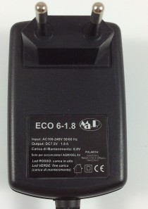CARICABATTERIE MANTENITORE CB ECO 6-1.8 (6V 1.8AH)