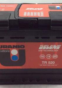 BATTERIA URANIO START E STOP 12V 60AH 520A(EN) TR520