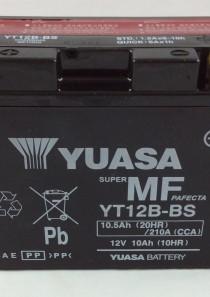BATTERIA MOTO-SCOOTER YUASA 12V 10AH YT12B-BS