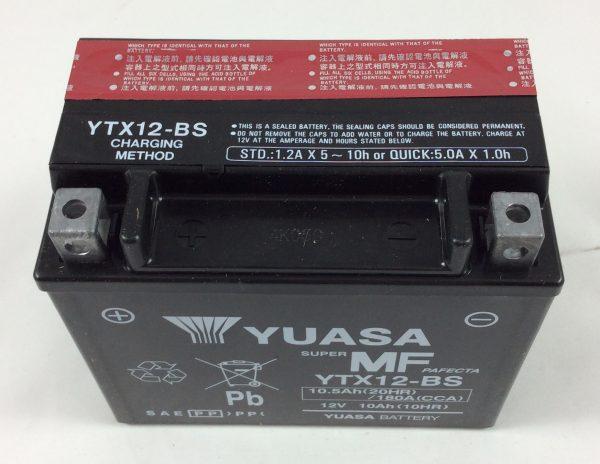 BATTERIA MOTO-SCOOTER YUASA 12V 10AH YTX12-BS-