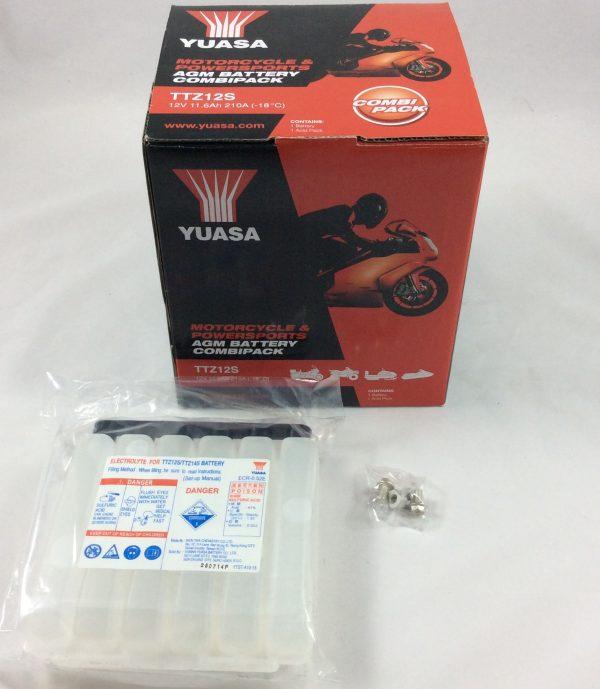 BATTERIA MOTO-SCOOTER YUASA 12V 11AH TTZ12S