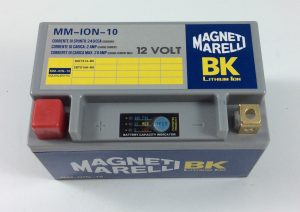 BATTERIA MOTO/SCOOTER LITIO MAGNETI MARELLI 12V 240A(EN) ION-10