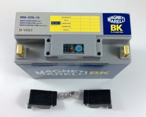 BATTERIA MOTO/SCOOTER LITIO MAGNETI MARELLI 12V 450A(EN) ION-14
