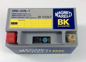 BATTERIA MOTO/SCOOTER LITIO MAGNETI MARELLI 12V 130A(EN) ION-7