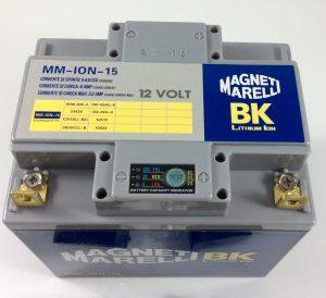 BATTERIA MOTO/SCOOTER LITIO MAGNETI MARELLI 12V 540A(EN) ION-15