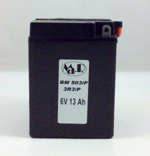 BATTERIA MOTO D'EPOCA 6V 13AH BM503/P