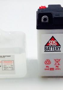 BATTERIA MOTO D'EPOCA 6V 6AH 6N6-3B-1 (BM103)