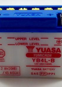 BATTERIA MOTO-SCOOTER YUASA 12V 4AH YB4-LB