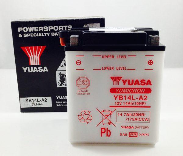 BATTERIA MOTO-SCOOTER YUASA 12V 14AH YB14L-A2
