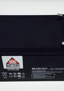 BATTERIA PER BICICLETTA ELETTRICA AGM 12V 14AH BE12014CY
