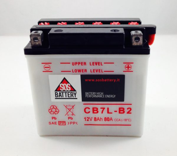 BATTERIA MOTO-SCOOTER SOS BATTERY 12V 8AH BM 208/A