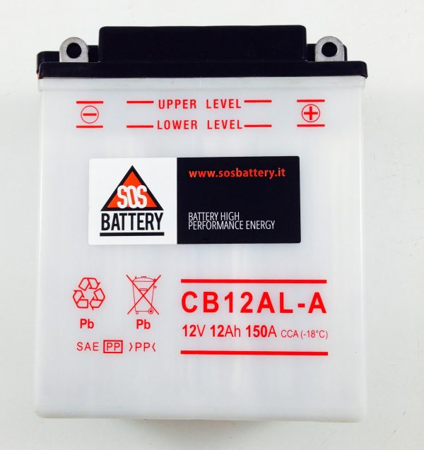 BATTERIA MOTO-SCOOTER SOS BATTERY 12V 12AH BM 215