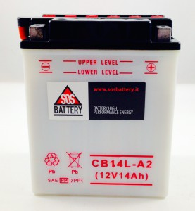 BATTERIA MOTO-SCOOTER SOS BATTERY 12V 14AH BM 216