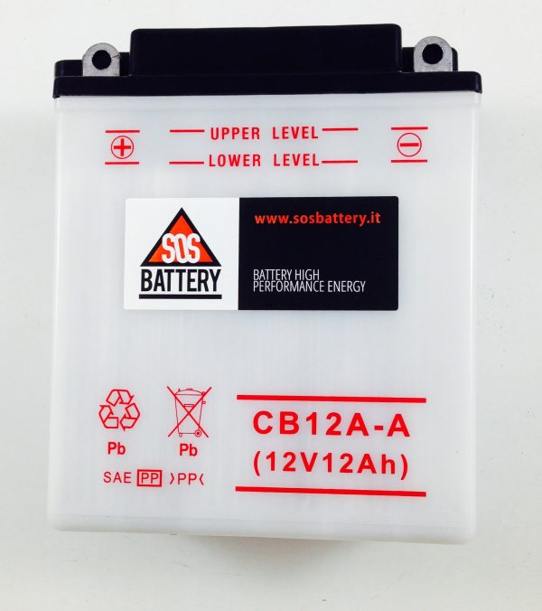 BATTERIA MOTO-SCOOTER SOS BATTERY 12V 12AH BM 213