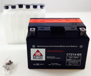 BATTERIA MOTO-SCOOTER SOS BATTERY 12V 12AH BM 670 SIGILLATA